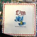 f2m Launch Cake