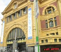 Flinders St Station entrance